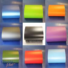 Mattmatte Vinyl Wrap Bubble Free Black White Red Pink Blue Green Silver Gold