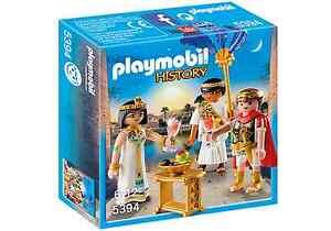 Playmobil-Roma-Ref-5394-Cesar-y-Cleopatra-con-Accesorios-Romanos-NUEVO-Belen