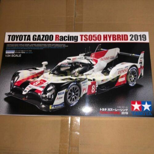 Tamiya 25421 1//24 TOYOTA GAZOO RACING TS050 2019 Hybrid Model Kit