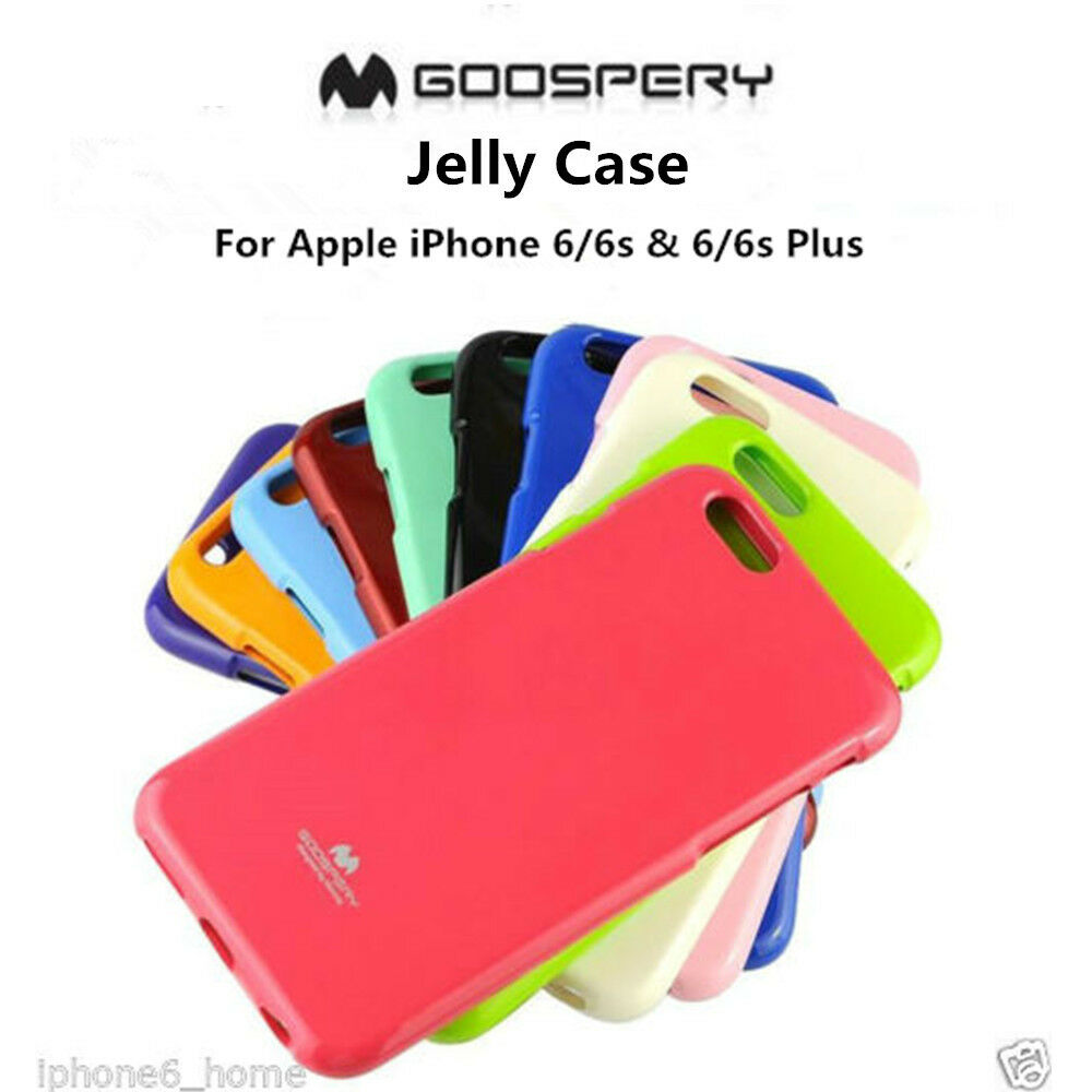 Genuine Mercury Goospery Pink Soft Jelly Skin Case Cover For Apple Pearl All Type Special  Red Iphone 6 6s Ebay