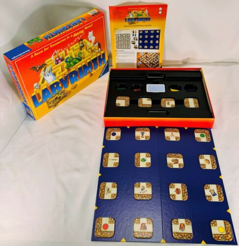 The Amazing Labyrinth Board Game by Ravensburger Complete in Great Condition