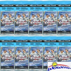 10-2020-Topps-Chrome-Baseball-EXCLUSIVE-Jumbo-Fat-CELLO-PACKS-PINK-REFRACTORS