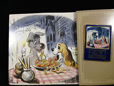 Japan Disney Mall - Art of Disney Series - Lady and the Tramp Pin