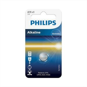 Lr1154 Philips Alkaline Batterie 1.5v Lr44 A76 Knopfzelle Exquisite Handwerkskunst; V13ga Ag13