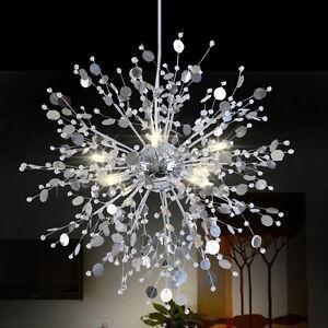 Image is loading Modern-Creative-Crystal-Dandelion-LED-Chandelier-Pendant- L&- & Modern Creative Crystal Dandelion LED Chandelier Pendant Lamp ...