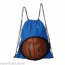 Volleyball Soccer Basketball Sport Backpack Bag - Blue