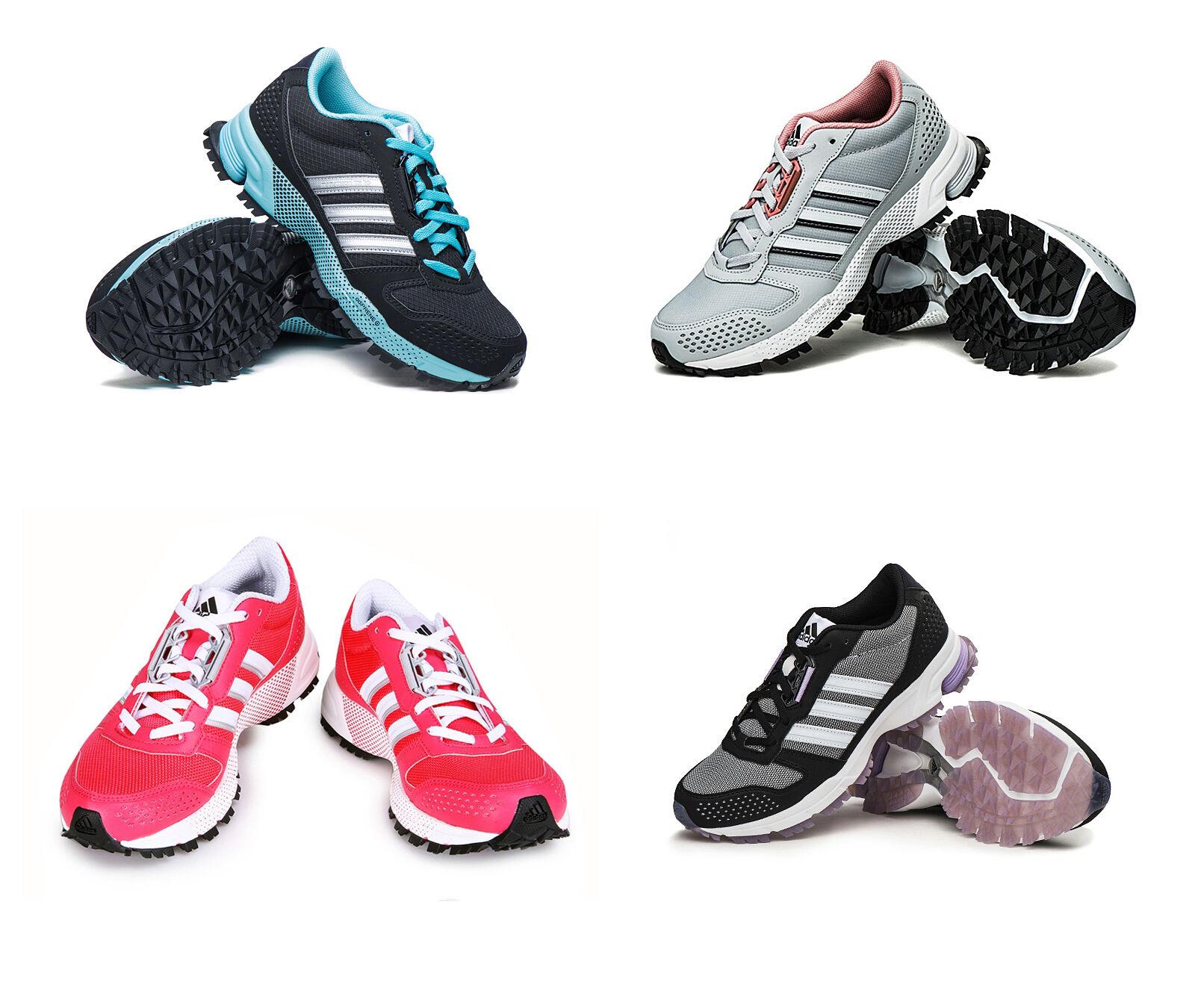 huge selection of 7c046 9f87f Adidas donne della maratona di 10 tracce delle scarpe da da da corsa d66709  facendo palestra