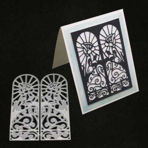 Door Metal Cutting Dies Stencil DIY Scrapbooking Album Stamp Paper Card Emboss