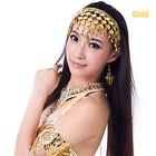 Belly Dance Accessory Bollywood Headband Headpiece Jewellery Golden/Sliver