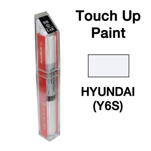 Hyundai OEM Brush/&Pen Touch Up Paint Color Code Platinum Silver Y6S