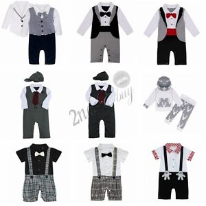 Romper-Jumpsuit-Newborn-Baby-Boys-Clothes-T-shirt-Hooded-Tops-Pants-Outfits-Set