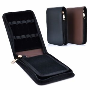 Roller-Leather-Case-Holder-Stationery-For-12-Fountain-Pen-For-Student-US-Stock
