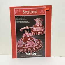 Mother/'s Lullaby Doll Outfit Fibre Craft Crochet Pattern Leaflet FCM233