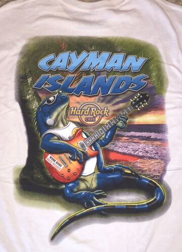Hard Rock Cafe CAYMAN ISLANDS 2017 City Tee SHIRT Double Extra Large 2X XXL+Tags