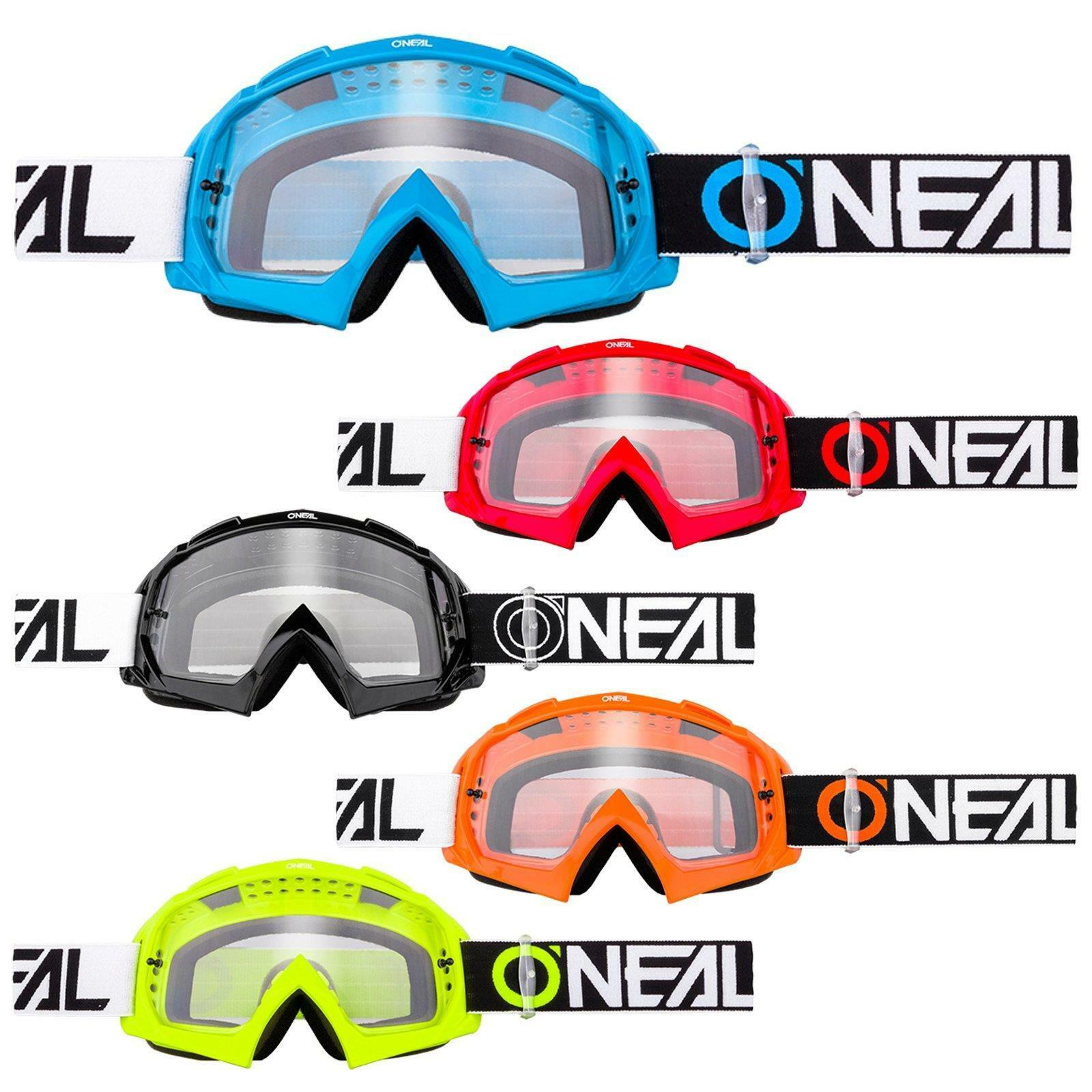 ONeal B-10 Goggle Twoface MX Brille  Klar Moto Cross DH Downhill Anti-Fog MTB  shop clearance