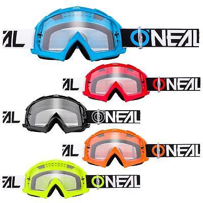 Oneal B-10 Goggle Twoface Mx Occhiali Chiaro Moto Cross Dh Downhill Anti-fog Mtb- Promuovere La Salute E Curare Le Malattie