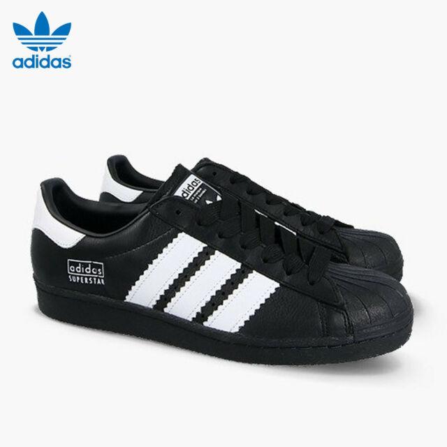 Size 9 - adidas Superstar Black White