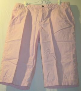 Columbia-Size-16-Cute-and-Comfortable-Pink-Cropped-Lightweight-Pants