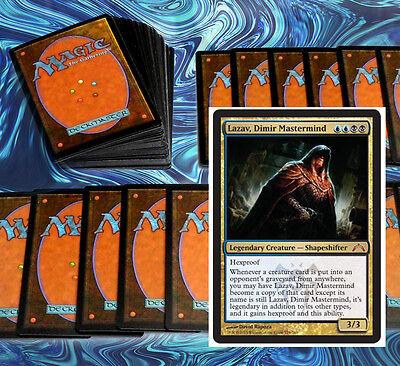 mtg BLACK BLUE DIMIR COMMANDER EDH DECK Magic the Gathering 100 cards lazav