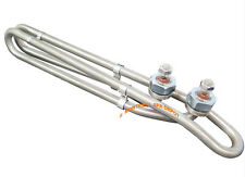 Spa hot tub Heater ELEMENT Incoloy 5.5 kW Flo-Thru Bow Tie Nut & Bolt 1.4kw@120V