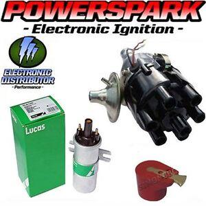 Jaguar-6-cylinder-High-Energy-Electronic-distributor-45D6-22D-25D6-amp-DLB198-Coil