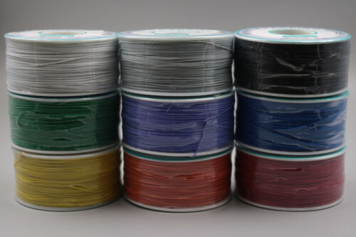 9Pcs Nine color 250m Wire-Wrapping Wire Cable 30AWG 0.25mm