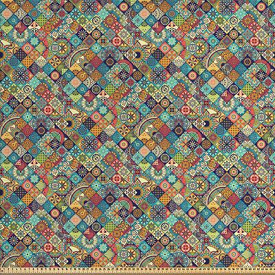 marokkanisch Stoff als Meterware Orientalische Ethno-Motive