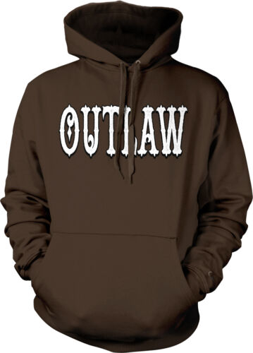 Breaking the law On the Run Sayings  Hoodie Pullover Outlaw