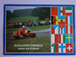 Ansichtskarten-DDR-Motorsport-Motorrad-Schleizer-Dreieck-1980er-Jahre