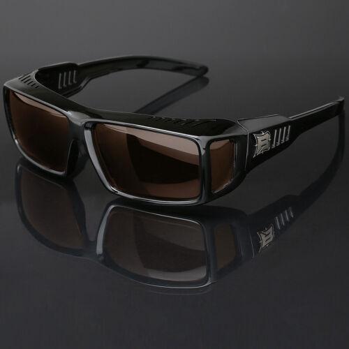 Polarized Rectangular Fit Over Sunglasses Cover Prescription RX Eye Glasses