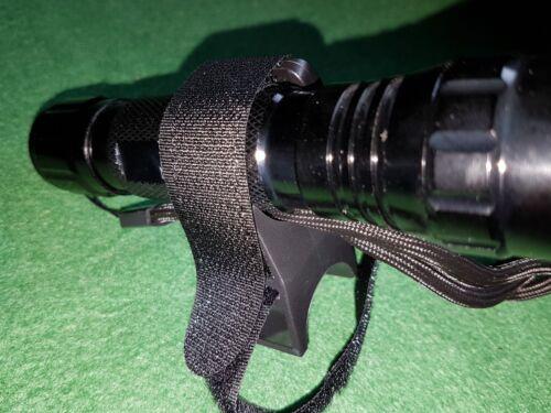 Universel Torche Lumière Lampe de poche Mont-Vélo Casque-Pistolet Air Rifle Scope