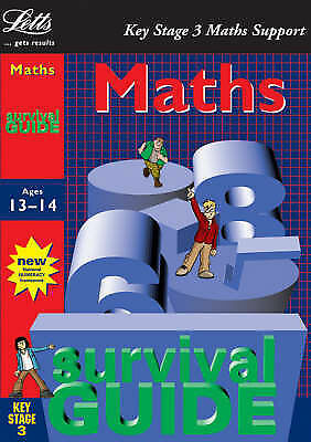 """1 of 1 - """"VERY GOOD"""" Key Stage 3 Survival Guide: Maths Age 13-14 (Key Stage 3 survival gu"""