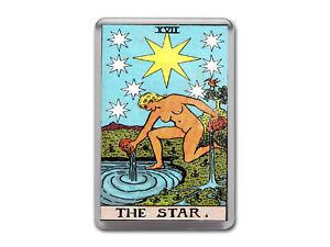 Details about THE STAR TAROT CARD Major Arcana Rider Waite Quality Fridge  Magnet