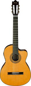 Ibanez-GA6CE-AM-Konzertgitarre-mit-Cutaway-6-Saiter-Amber-High-Gloss-4-4