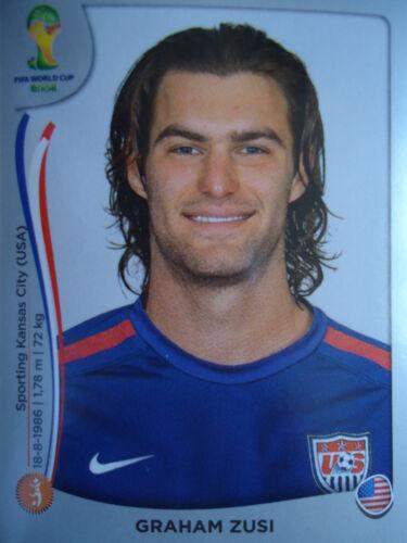 Panini 557 Graham Zusi USA FIFA WM 2014 Brasilien