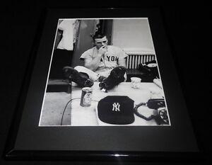 Roger-Maris-Smoking-Framed-11x14-Photo-Display-Yankees