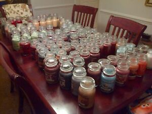 Pick-SCENT-YANKEE-CANDLE-Large-Jar-22oz-Free-Ship-MYSTERY-Scent-New-ADDED-10-20