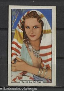 Tamara-Desni-Vintage-Movie-Film-Star-Trading-Card-1935-Gallaher-18