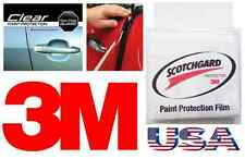 3M 2 Door Edge Scratch Guard Trim Protector CLEAR Strip Scotchgard Car Truck Kit