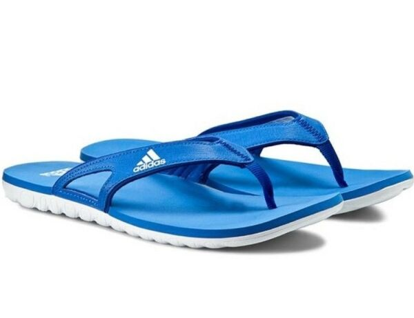 154149e7616af4 Adidas Mens Calo 3 Flip Flops Slides Sandals Thong Slippers - G15878