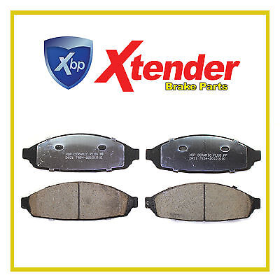 CD931 Front 4x Disc Brake Pads 03-11 Mercury Marauder; Grand Marquis 03-04