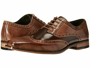 Image is loading Stacy-Adams-Mens-Tinsley-Wingtip-Oxford-Dress-Shoes-