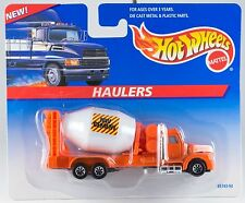 Hot Wheels Haulers Cement Mixer Truck New On Card 1997