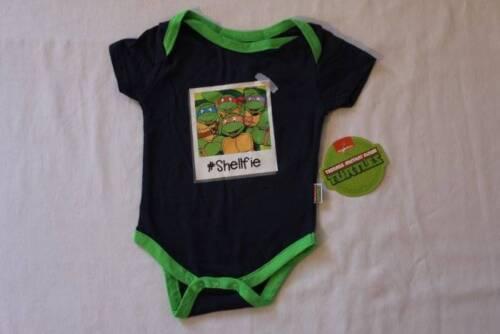 NEW Baby Boys TMNT Bodysuit 6-9 Months Creeper Outfit 1 Piece Ninja Turtles