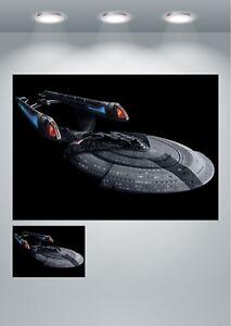 Star Trek Enterprise Space Ship Large Poster Art Print