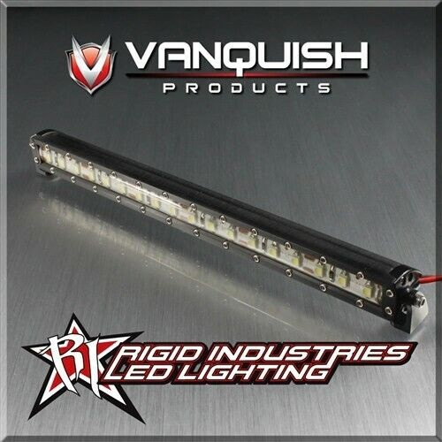 Vanquish rígido Industries 6  LED Luz Products Bar Negro Para Radio Control scx10 VPS06751