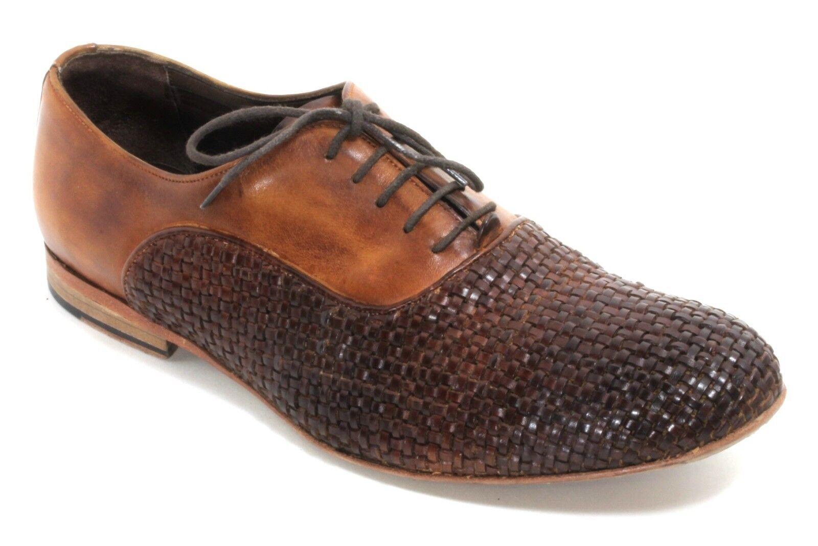 Zapatos caballero zapatos zapato bajo patrones cesta schnürzapatos utes Business 50s 60s 41
