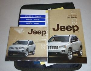 2011 jeep compass user guide owners manual set 11 dvd w case ebay rh ebay com 2011 jeep compass used manual transmission 2012 Jeep Compass Manual