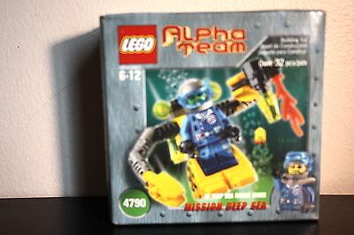 Intenzionale Lego 4790 Alpha Squadra Missione Deep Sea Sigillato Garanzia Al 100%