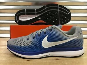 official photos ce38b 95416 Image is loading Nike-Air-Zoom-Pegasus-34-Running-Shoes-Wolf-